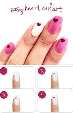 15-Easy-Step-By-Step-Valentines-Day-Nail-Art-Tutorials-For-Beginners-Learners-2015-5