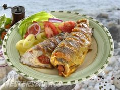Pisztráng Árpi kedvére recept Rainbow Trout, Tandoori Chicken, Paleo, Pork, Turkey, Favorite Recipes, Bacon, Meals, Dishes