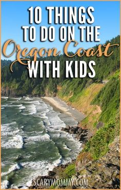To Do on the Oregon Coast With Kids Planning a family trip to the Pacific Northwest? Visiting the Oregon Coast with kids can be a fun-filled adventure! Get great tips and ideas for fun things to do with the kids in Scary Mommy's travel guide! Oregon Coast Roadtrip, Oregon Vacation, Oregon Road Trip, West Coast Road Trip, Oregon Travel, Vacation Spots, Travel Usa, Vacation Ideas, Road Trips
