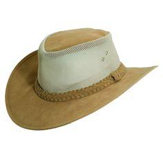 Dorfman Pacific Men's Water Soaker UPF 50+ Mesh Sides Safari Hat