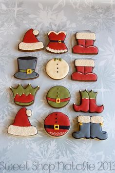 christmas outfit cookies | Cookie Connection