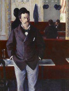 Gustave Caillebotte - At a Café – 1880