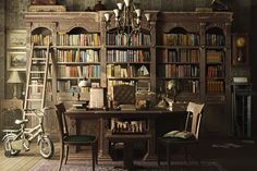 9 Vintage-Inspired Home Libraries to Envy #Highboystyle