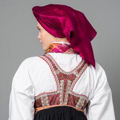 Skjorte Folk Costume, Costumes, Bomber Jacket, Ruffle Blouse, Vest, Lady, Sweden, Jackets, Tops