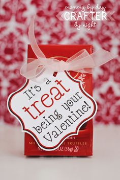 What a great way to add a note to a bag of LINDOR truffles!