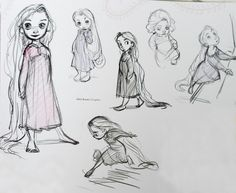 Toddler Rapunzel  small child