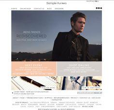 Mens Trends, Line Shopping, Belstaff, Fashion Websites, See By Chloe, Hunters, Branding Design, Fashion Design, Style