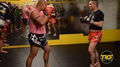 HOW-TO: Catch Kick Combo w/ Ajarn Bryan Dobler & Kru Chris   tagmuaythai.com -- #tagmuaythai #muaythai #mma #thaiboxing #muaythailife #muaythaifighter #kick #fight #video #motivation #trainhard #martialarts #selfdefense #technique #sports #tbt #combatsports #leesburg #VA #instadaily