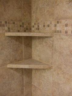 Tile Shower Shelves