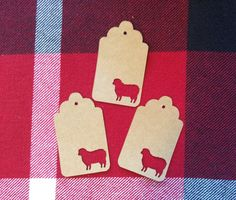 Die Cut Sheep Tag by NatureCuts on Etsy