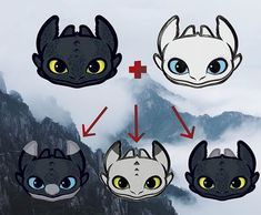 Httyd Dragons, Dreamworks Dragons, Cute Dragons, Diy Crafts For Tweens, Toothless And Stitch, Night Fury Dragon, Dragon Family, Desenhos Love, Cute Disney Drawings