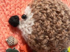 This pattern is for quick to knit novelty mittens featuring 3D baby hedgehogs. The mittens are worked flat, on single point needles. The hedgehogs are worked separately & stitched onto the finished mittens. I have embellished my mittens with tiny leaf buttons & used small beads for the eyes. Alternatively, if you are knitting for a younger child & wish to omit the buttons & beads, you could work the first two rows above the ribbing in a darker colour to represent the ground &...