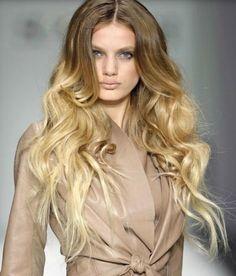 Ombre hair?