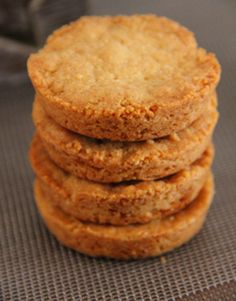 Simplest things are often the best, just like these butter cookies! Enjoy with hot tea or coffee! Ingredients list for the butter cookies 2 egg yolks 2/5 cup (80g) of sugar 2 3/4 ounces (80g) butt...