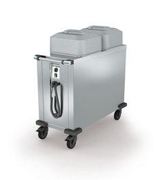 GTARDO.DE:  Tellerspender für 160 Teller, beheizbar 30 bis 110°C, 1,5 kW, 1114x520x1030 mm 1 503,00 €