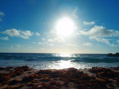 November 3rd, 2013. Eclipse of the sun John Smith's Beach Bermuda Photo by Kath G.