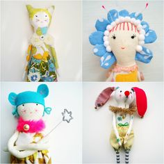 Personalised art dolls by modflowers, now available to order via Etsy: https://www.etsy.com/uk/listing/450525448/made-to-order-personalised-art-doll?ref=shop_home_active_1