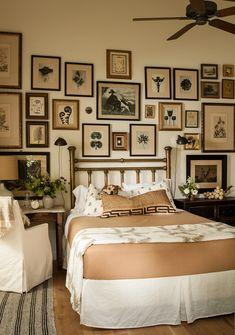 Lauren Liess Domino Magazine bedroom