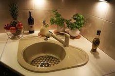 Znalezione obrazy dla zapytania zlew kuchenny narożny jednokomorowy