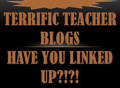 The Terrific Teacher Blogs Link Up Is OVER 285 Blogs! Is Your Blog Listed? ~By www.FernSmithsClassroomIdeas.com