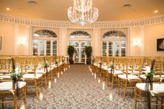 Lucille and Seans Wedding Photos by Feuza Reis Studios- Berkeley Oceanfront Hotel in Asbury Park NJ. they have an awesome ceremony room.