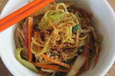 Spicy State Fair Fried Noodles, a recipe on Fried Noodles Recipe, Noodle Recipes, Fish Recipes, Asian Recipes, Ethnic Recipes, Chinese Recipes, French Breakfast Radish, State Fair Food, Kitchens