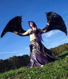 Here You are Morgana Cosplay 100% finished! From League of Legends videogames!