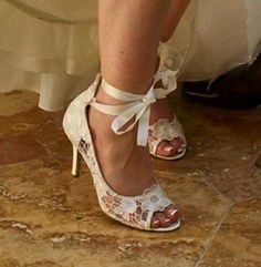A Bride's Shoes, for whom I Played on my harp for her wedding, really showed off her bright and beautiful personality Bride Shoes, Harp, Personality, Kitten Heels, Bright, Touch, Weddings, Beautiful, Fashion