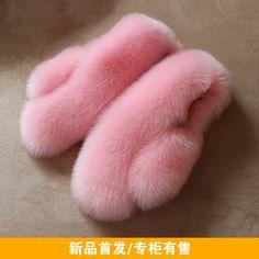 [Daily] children's clothing children's fur vest imitation fox fur vest baby cotton sweater plush shoulder