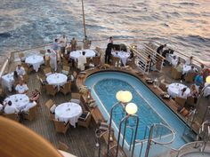 Diner at @SeaDreamYC #cruise