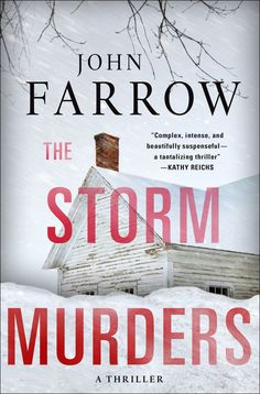 The storm murders by John Farrow, 2015. The first book in this series was hailed as 'the best series in crime fiction today'. Now the series continues. On the day after a massive blizzard, two policemen are called to an isolated farm house sitting all by itself in the middle of a pristine snow-blanketed field. Inside are two dead people. Check it out here http://encore.sutherlandshire.nsw.gov.au/iii/encore/record/C__Rb1243704__Sstorm%20murders__Orightresult__X5?lang=eng&suite=cobalt