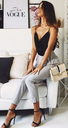 15 super sexy business outfits for girls- 15 Super sexy Business-Outfits für Mädchen We want to look sexy everywhere, even at work! That& why I& prepared a number of ideas for sexy office looks that can not be se … Mode Outfits, Fall Outfits, Formal Outfits, Night Outfits, Daye Night Outfit, Best Outfits, Classy Outfits For Women, Classy Chic Outfits, Classy Clothes