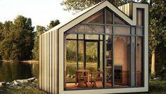 Bunkie: Een pre-fab huisje inclusief meubels
