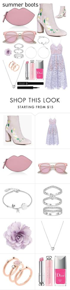 """...wanna kiss you tomorrow?..."" by pinkstars6 ❤ liked on Polyvore featuring Boohoo, self-portrait, Kendall + Kylie, Disney, Cara, Links of London, Michael Kors, Christian Dior and Giorgio Armani"