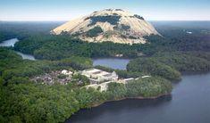Stone Mountain in Stone Mountain, Georgia