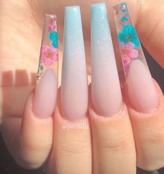 Fiji Nails, Aycrlic Nails, Love Nails, How To Do Nails, Hair And Nails, Stylish Nails, Trendy Nails, Perfect Nails, Gorgeous Nails