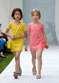 ランウェイの主役は子どもたち!ボンポワン2014年春夏コレクション、愛らしいステージが観客を魅了の写真6