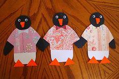 Tacky the Penguin Craft - program ideas - Preschool Crafts, Fun Crafts, Crafts For Kids, Preschool Winter, Toddler Crafts, Winter Fun, Winter Theme, Winter Ideas, Winter Craft