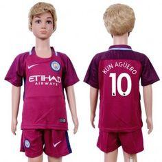 Manchester City Bernardo Away Kid Soccer Club Jersey Manchester City, Sergio Aguero, Kun Aguero, Kids Soccer, Youth, Shopping, Club, Tops, Fashion