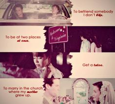 Remember these quotes from a 2002 movie? A Walk To Remember. I cried.
