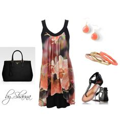 Black Orchid dress, created by shauna-rogers on Polyvore