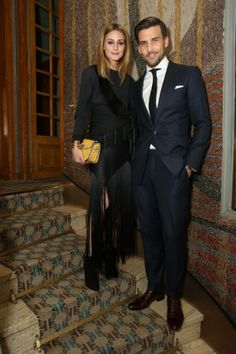 Olivia Palermo and Johannes Huebl - January 24, 2016