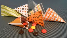 Candy Filled Paper Cones