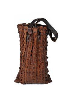 :u woven leather