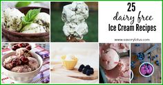 25 of the most delicious dairy free ice cream recipes all together in one place!