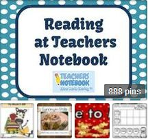 Reading at Teachers Notebook Collaborative Board