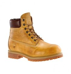 Boots Homme Timberland Heritage 6-inch Premium - Wheat Burnisehd