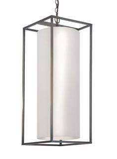 Derwent Rectangle Pendant Large Ceiling Light - Heathfield & Co