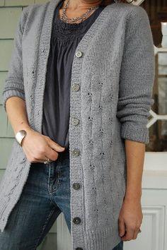 Knit Cardigan Pattern, Vest Pattern, Sweater Knitting Patterns, Crochet Cardigan, Knit Patterns, Free Knitting, Free Pattern, Knit Crochet, Knit Sweaters