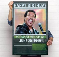 Lionel Richie - Happy birthday!